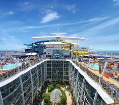 Royal Caribbean Harmony of the Seas Will Be World's Next Mega Ship