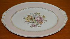 Homer Laughlin Arcadia Eggshell Georgian Serving Platter-Floral Platter by TwinsTreasureTrove on Etsy
