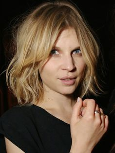 clemence poesy haircut 2014 - Google Search
