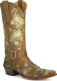 girly cowboys boots