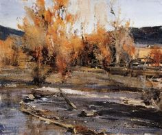 Nikolay Fechin Landscape in New Mexico oil painting picture