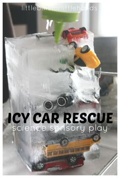 Ice Car Rescue Ice Melt Science Sensory Play