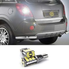 1pcs White Canbus Error Free T15 W16W Car LED Backup Reverse Lights lamps For Opel Combo Box Meriva B Mokka Zafira Tourer