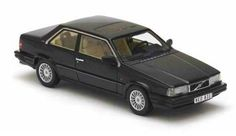 Neo Scale Models 1/43 scale model Volvo 780 Coupe in black