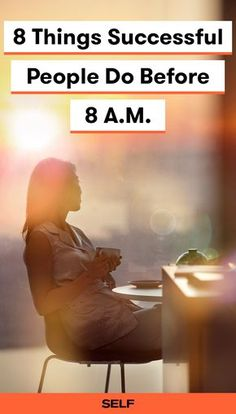 Successful people tend to have routine morning habits that promote their productivity and well-being. Follow these tips to boost your success in fitness, your career, and your life.