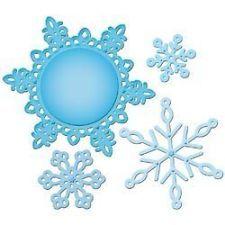 Spellbinders Shapeabilities Pendants Cutting Dies Snowflake 2012