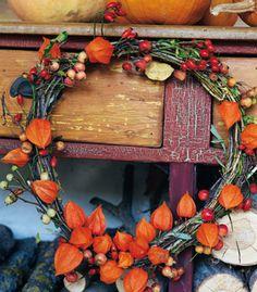 Deko: Herbstzauber - Magazine - Archiv - burda style