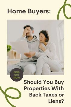 Should You Buy Properties With Back Taxes or Liens? Transactions on properties with liens can be messy, but they aren't necessarily deal breakers. Here's what you should know. | Home Buyers | Buying a Home | Real Estate The Marketing, Inbound Marketing, Real Estate Marketing, Family Budget, Real Estate Investing, Social Media Tips, Time Management, Adulting, Home Buying