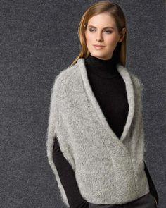 Women's Magazine Concept 1 Fall / Winter Knit Vest Pattern, Knitting Patterns, Crochet Woman, Knit Crochet, New Shape, Mohair Sweater, Knit Fashion, Knitting Designs, Hand Knitting