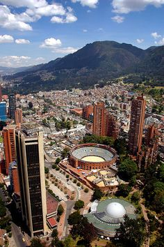Bogota, Colombia, South America. I have been here almost 6 times because of family :) we go almost every year