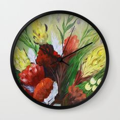 FYNBOS Wall Clock