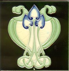 Image detail for -Welcometomy Art Nouveau tile website!