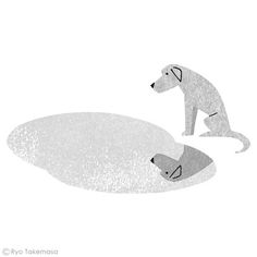 by Ryo Takemasa one of my favorite dog illustrations (MZ)