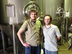 Kai (head brewer) and Shane (assistant brewer)