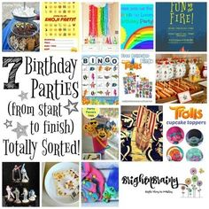 7 Birthday Parties – From Start To Finish – Totally Sorted!
