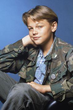 Leonardo DiCaprio teenager.