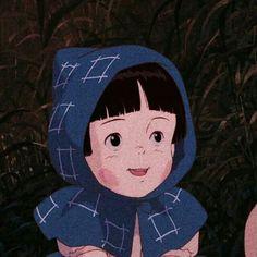 Studio Ghibli Characters, Girl Cartoon Characters, Cartoon Icons, Manga Art, Manga Anime, Anime Art, Hotaru No Haka, Grave Of The Fireflies, Chihiro Y Haku
