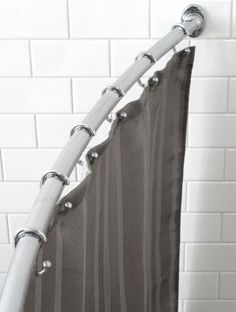 Curved Shower Rod $18