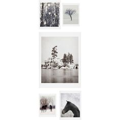 Deny Designs Winter Farm 5-Piece Gallery Wall Art Print Set (1.361.545 IDR) ❤ liked on Polyvore featuring home, home decor, wall art, fillers, backgrounds, winter wall art, deny designs, 5 piece wall art, deny designs home accessories and five piece wall art