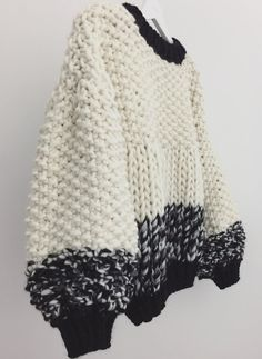 Knitting Fashion Inspiration Ideas For 2019 Jumper Patterns, Knitting Patterns, Crochet Patterns, Mode Inspiration, Fashion Inspiration, Knit Fashion, Knitting Designs, Hand Knitting, Knitwear