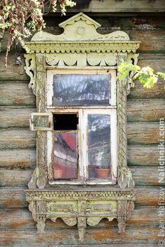 Traditional window frame (Nalichnik) from Egoryevsk, near Moscow, Russia #31