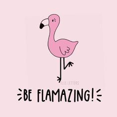 Be flamazing! 💗 We're down to the final day of my Kickstarter! If you lov… Be flamazing! 💗 We're down to the final day of my Kickstarter! If you love Florrie the flamingo and want her as a pin be sure to make a… Poster Flamingo, Flamingo Art, Pink Flamingos, Flamingo Puns, Karten Diy, Marianne Design, Painted Rocks, Funny Quotes, Girly Quotes