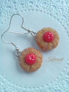 Hey, I found this really awesome Etsy listing at https://www.etsy.com/es/listing/185296862/pendientes-galletitas-almendra-y-cereza