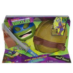Disfrázate de las tortugas más molonas... ¡Las Tortugas Ninja!
