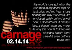 Carnage by Lesley Jones