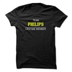 Team PHILIPS Lifetime member - #hoodie kids #sweaters for fall. ORDER NOW => https://www.sunfrog.com/Names/Team-PHILIPS-Lifetime-member-dmtptcgesc.html?68278