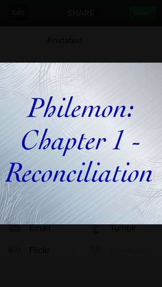 Philemon: Paul pleads on behalf of Onesimus, a runaway slave. As Paul interceded for a slave, so Christ intercedes for us, slaves to sin. As Onesimus was reconciled to Philemon, so we are reconciled to God through Christ. As Paul offered to pay the depths of a slave, so Christ paid our debt of sin. Like Onesimus, we must return to God our master and serve him. Verse I highlighted: Philemon 1:9 http://bible.com/111/phm.1.9.niv