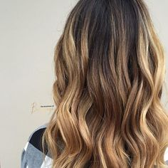 We created this look keeping the laws of natural  color, darker and cooler at the scal...