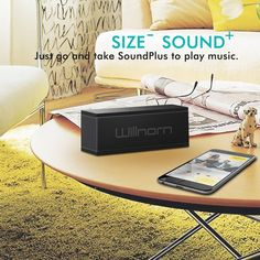 Willnorn SoundPlus Dual-Driver Portable Wireless Bluetooth Speaker with Big Passive Subwoofer - Amazon