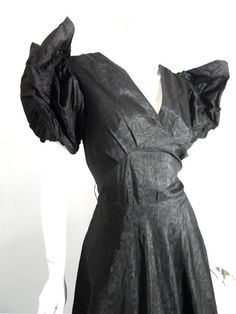 30s dress vintage clothing