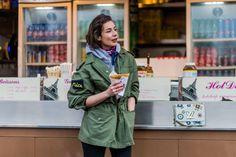 Parka verde, tendenze moda autunno inverno 2016-2017 -cosmopolitan.it