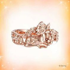 Jewelry/Rings: Disney's Bambi Ring