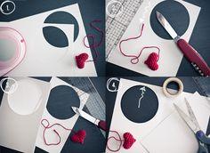 I love Kawaii: Crochet Valentine's Card