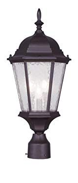 Darby Home Co Busse Outdoor 1 Light Lantern Head Size / Bulb Type: Lantern Post, Led Lantern, Metal Lanterns, Outdoor Lantern, Livex Lighting, Outdoor Lighting, Classic Lanterns, Lamp Post Lights, Outdoor Post Lights