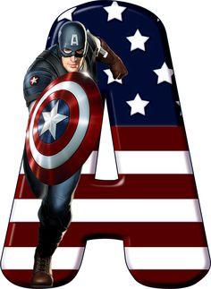 Captain America Party, Captain America Birthday, Captain America Civil War, Avengers Birthday, Superhero Birthday Party, Superman Party, Anniversaire Captain America, Hulk Superhero, Superhero Alphabet