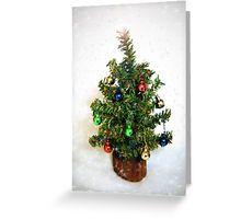 Teeny Tiny Christmas Tree Greeting Card