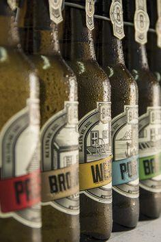 Bázis Brewery by Med Mate, via #Behance #Branding #Design #Packaging