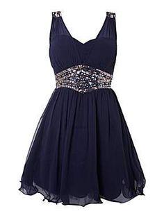 Embellished waist panel #dress by Little Mistress