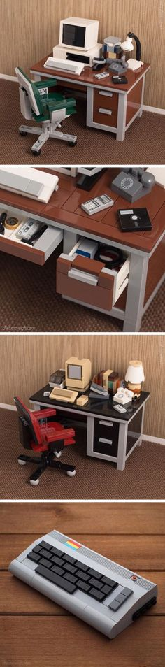 New Retro Technology LEGO Kits by Chris McVeigh