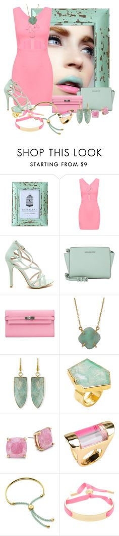"""Untitled #2820"" by quitabaity ❤ liked on Polyvore featuring MICHAEL Michael Kors, Hermès, NAKAMOL, Panacea, Janna Conner, Kate Spade, Bex Rox, Monica Vinader and Marc by Marc Jacobs"