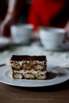Tiramisu - przepis tradycyjny   bistro mama Tiramisu, Ethnic Recipes, Food, Meal, Eten, Meals, Tiramisu Cake