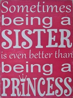 Sister princess totally putting this in my girls room