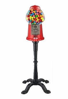 Bubble Gum Machine With Stand Candy Dispenser Peanuts Old Fashioned Coin Bank