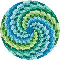 Phillips Fiber Art: Bargello Color Wheel