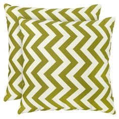 I pinned this Toss Zig Zag Pillow (Set of 2) from the Clean & Colorful event at Joss and Main!