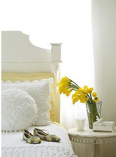 yellow + white